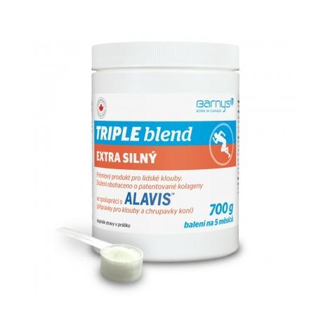 Barnys Triple blend extra silný prášok 700 g