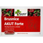 Slovakiapharm Brusnice AKUT Forte 20 cps