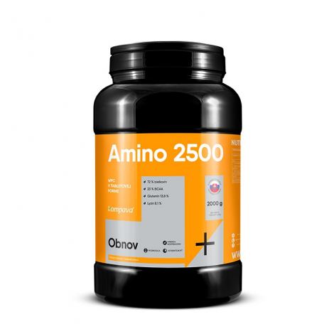 KOMPAVA Amino 2500 800 tbl