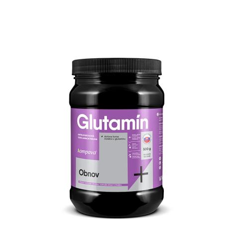 KOMPAVA Glutamín 500 g 100 dávok