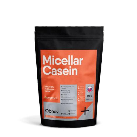 KOMPAVA MICELLAR CASEIN 80% čokoláda-pomaranč 16 dávok