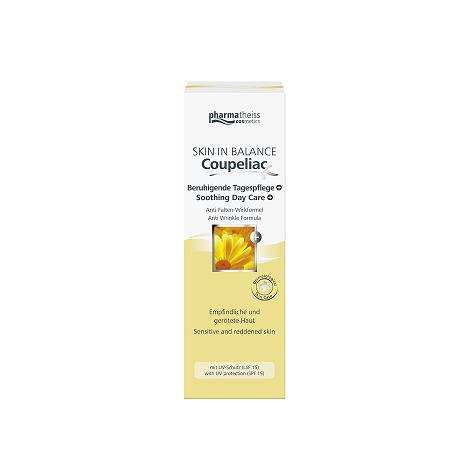 Skin in balance Coupeliac krém proti začervenaniu a vráskam 50 ml + Doliva čistiaci gél 75 ml zdarma