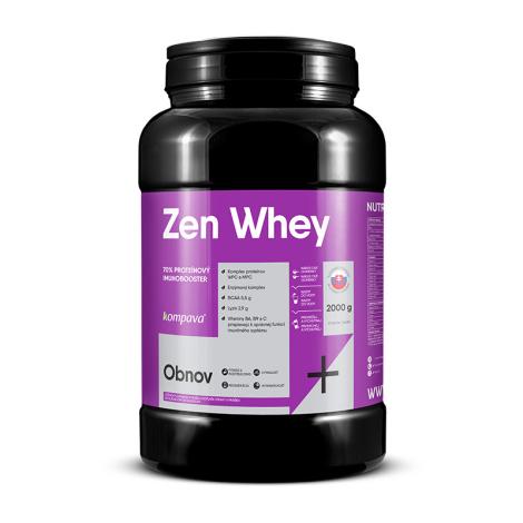 KOMPAVA Zen Whey Proteín jahoda-malina 67 dávok