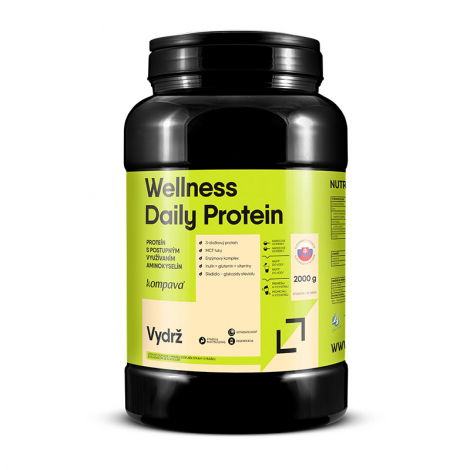 KOMPAVA Wellness Daily Protein natural 57 dávok