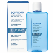 DUCRAY SQUANORM  LOTION ANTIPELLICULAIRE AU ZINC roztok so zinkom proti lupinám 200 ml