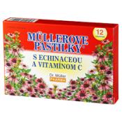 Müllerove pastilky s Echinaceou a vitamínom C 12 pastiliek