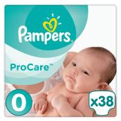 Pampers ProCare Premium veľkosť 0 1-2,5 kg 38 ks