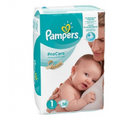 Pampers ProCare Premium veľkosť 1 3-6 kg 36 ks