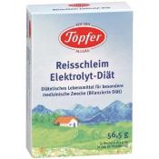 Töpfer Detská ryžová elektrolytická diéta od 4. mesiaca 56,5 g