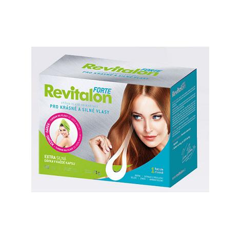 Revitalon forte 90 cps + darček turban na vlasy - Vitar -