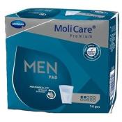 Molicare Premium Men 2 kvapky inkontinenčné vložky pre mužov 14 ks
