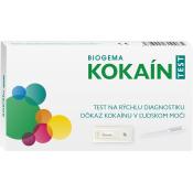 Biogema Kokaín test na stanovenie drogy v moči 1 ks