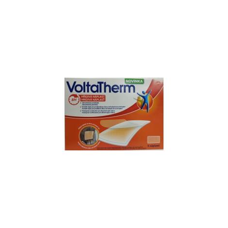VoltaTherm hrejivá náplasť na úľavu od bolesti 5 ks