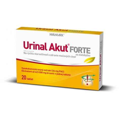 Walmark Urinal Akut Forte 20 tbl