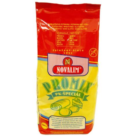 PROMIX-PK špeciál zmes na bezlepkové jemné pečivo 1000 g -  Novalim s.r.o. - D0407