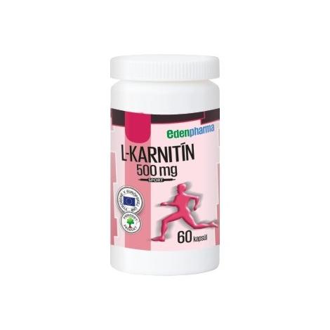 Edenpharma L-Karnitín 500 mg 60 cps