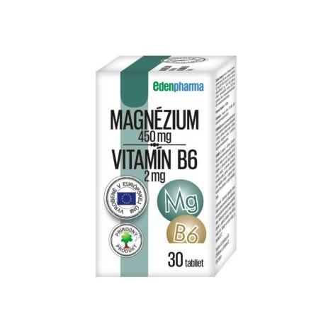 Edenpharma Magnézium + Vitamín B6 30 tbl