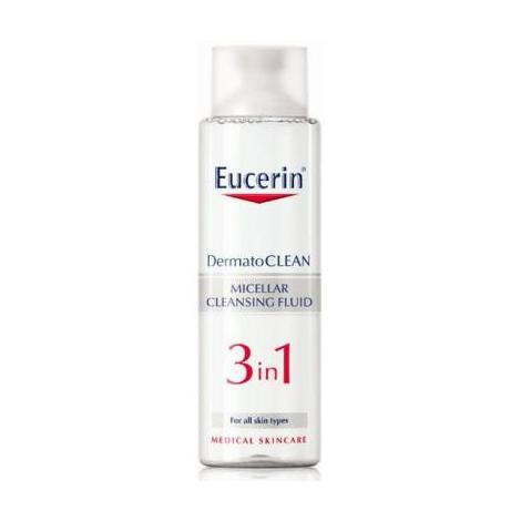 Eucerin Dermatoclean 3v1 micelárna voda 200 ml