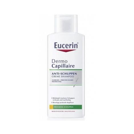 Eucerin Dermo Capillaire šampón proti suchým lupinám 250ml