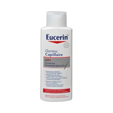 Eucerin Dermo Capillaire pH5 šampón pre citlivú pokožku 250 ml