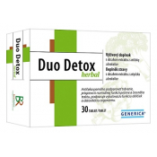 Generica Duo Detox herbal 30 tbl