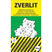 Zverlit hrubá podstielka pre mačky zelená 10 kg