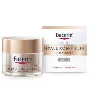 Eucerin HYALURON-FILLER + ELASTICITY nočný krém 50ml