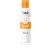 Eucerin Transparentný sprej na opaľovanie Dry Touch SPF 30