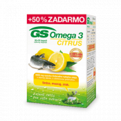 GS Omega 3 CITRUS 60 + 30 cps