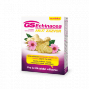 GS Echinacea akut zázvor 15 tbl