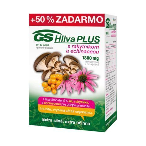 GS Hliva Plus 60+30 tbl
