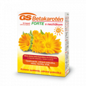 GS Betakarotén Forte s nechtíkom 30 cps