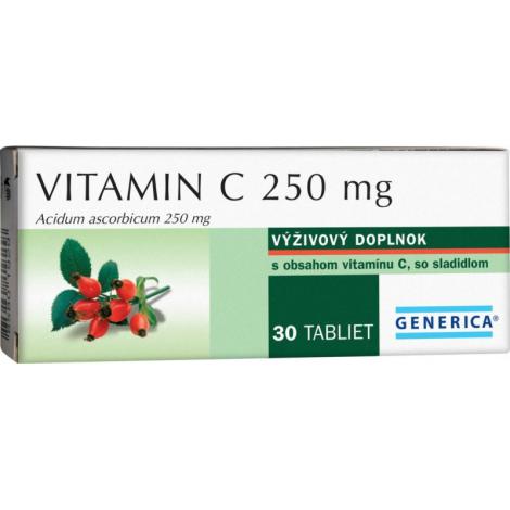 Generica Vitamín C 250mg 30 tbl