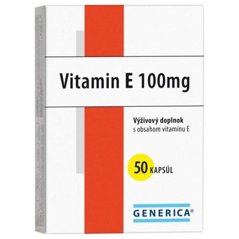 Generica Vitamin E 100 mg Generica 50 cps