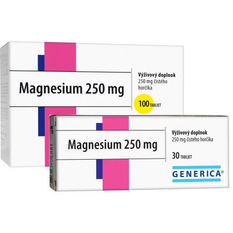 Generica Magnesium 250 mg 30 tbl
