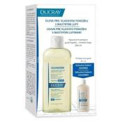 DUCRAY SQUANORM - PELLICULES GRASSES Šampón proti mastným lupinám 200 ml + ELUTION šampón 30 ml