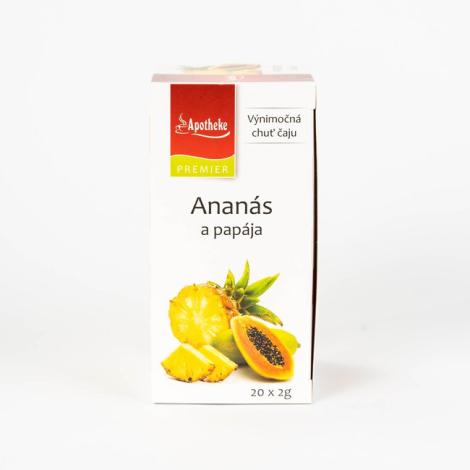 APOTHEKE čaj ananás+papája N.S.