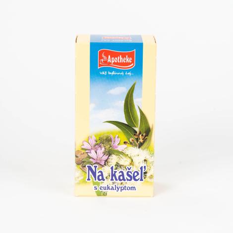 APOTHEKE Čaj na kašeľ s eukalyptom n.s. - MEDIATE s.r.o. -