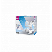 LOVI Expert 3D manuálna odsávačka materského mlieka 1x1 set
