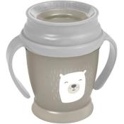 LOVI Hrnček 360˚ JUNIOR (250 ml) s úchytmi Buddy Bear