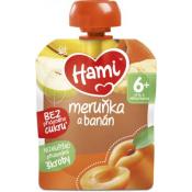 Hami ovocná kapsička Marhuľa a banán (od ukonč. 6. mesiaca) 90 g