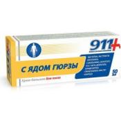Twins Tek 911+ hrejivý masážny krémový balzam 50 ml