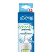 Dr.BROWN´S OPTIONS+ Narrow dojčenská fľaša 120 ml 1ks