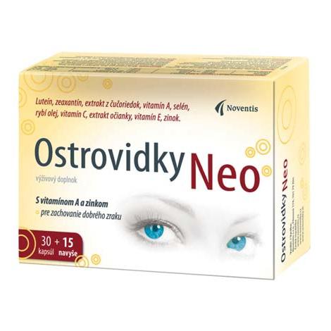 Ostrovidky Neo 30+15 kapsúl