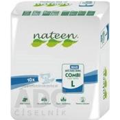 nateen COMBI MAXI L plienky inkontinenčné, obvod bokov 115-150 cm, savosť 3450 ml, 1x10 ks