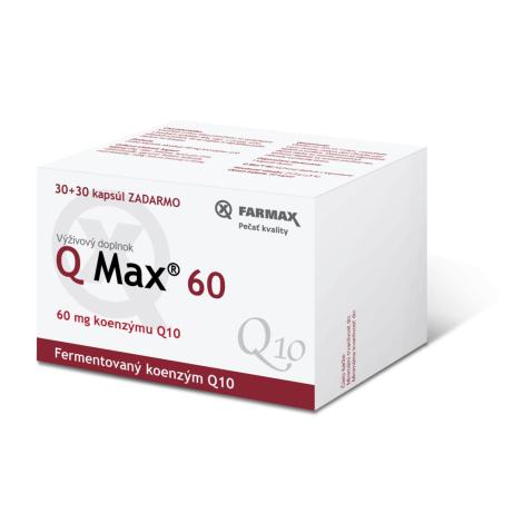 Farmax Q Max 60 mg 30 cps + 30 cps zadarmo