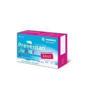 FARMAX Preventan Junior Akut + vitamín C tbl s jahodovou príchuťou 30
