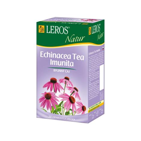 LEROS NATUR Echinacea Tea Imunita porcovaný čaj