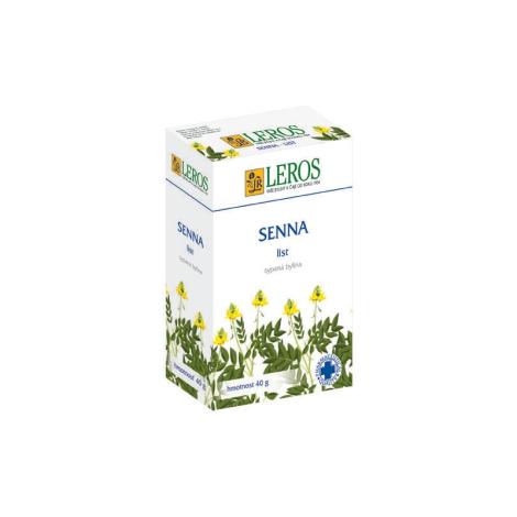 LEROS Senna list sypaný čaj
