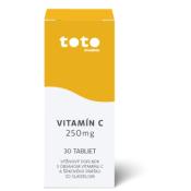 TOTO Vitamín C 250 mg 30 tbl